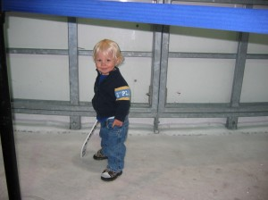 Tyler at the RInk