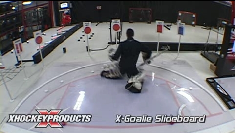 Unbelievable Goalie Slide Board