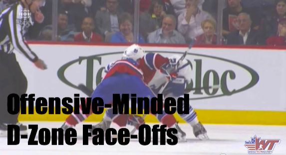Offensive-Minded D-Zone Face-Offs